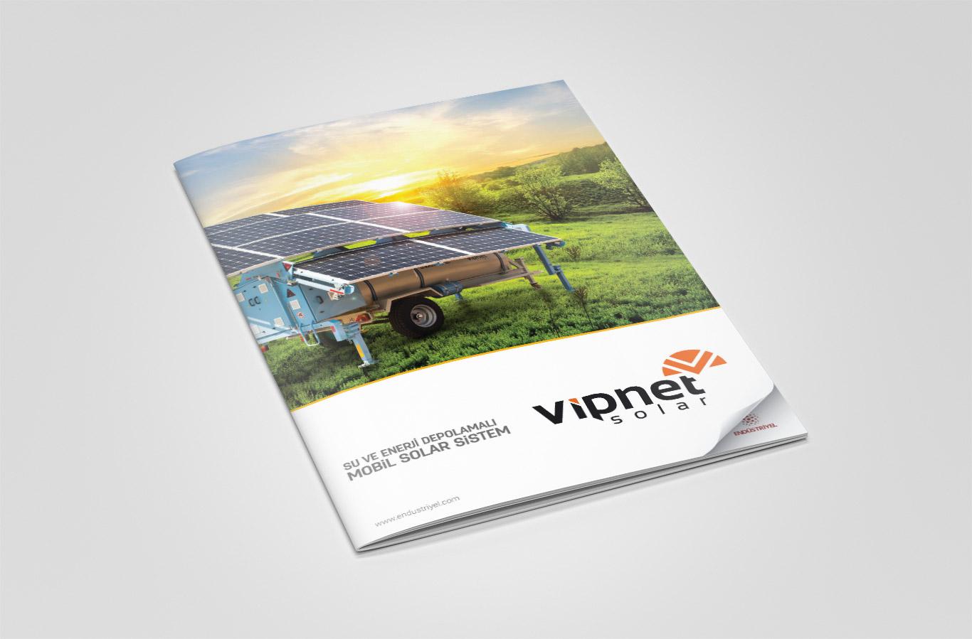 Vipnet Mobil Sulama Katalog Çalışması
