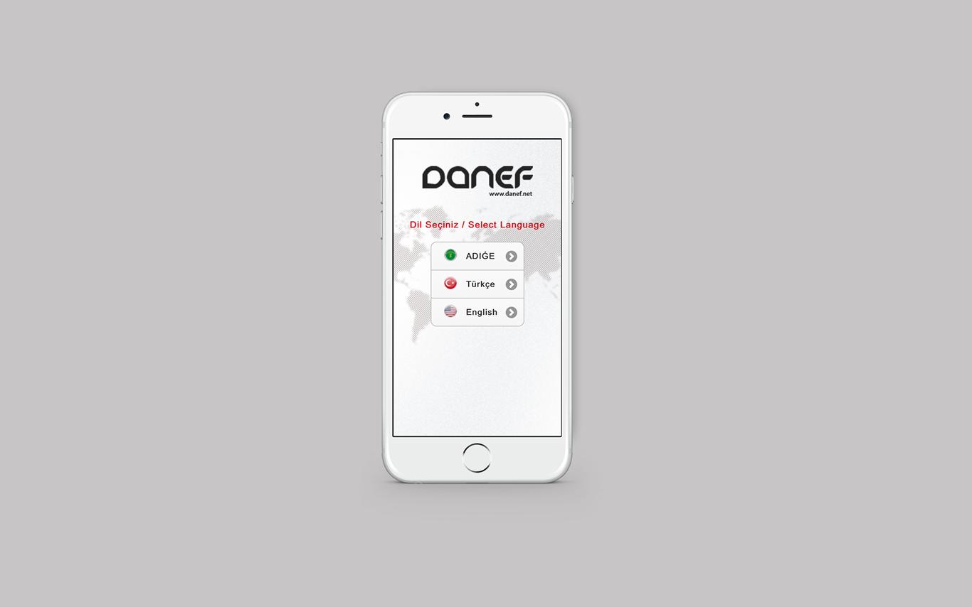 Danef Sözlük Mobil Uygulaması