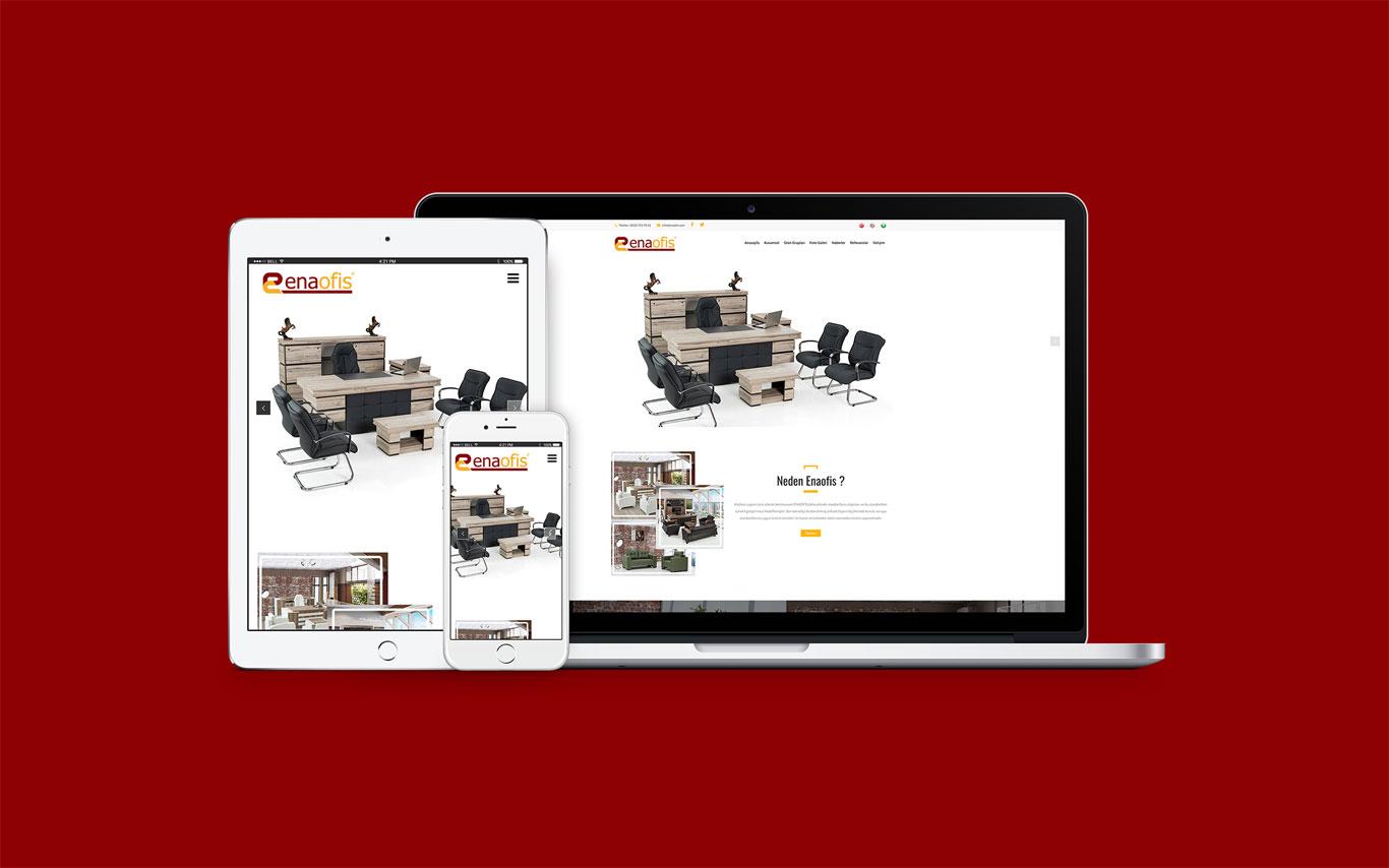 Ena Ofis Web Tasarım Çalışması
