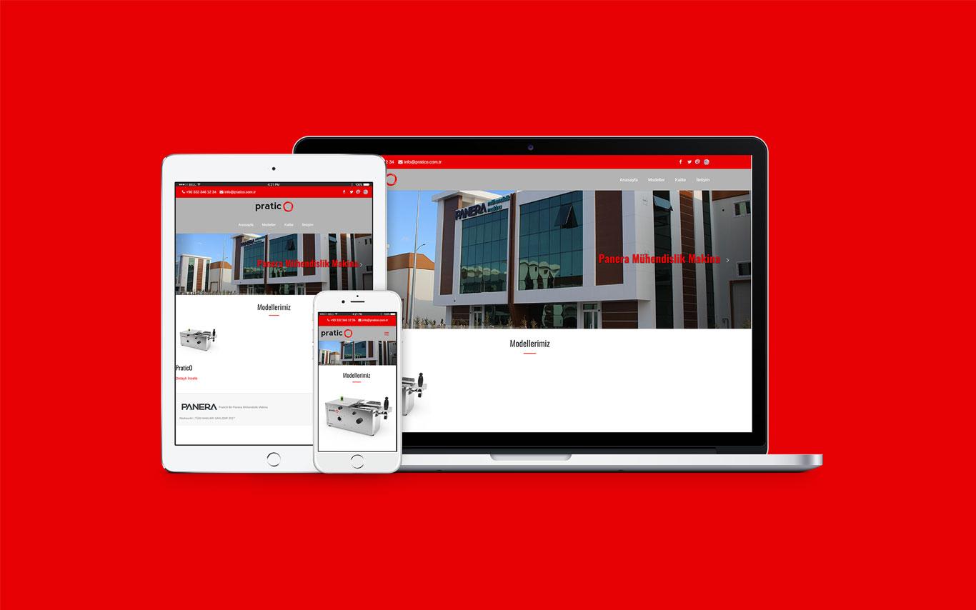 Pratico Web Tasarım Çalışması